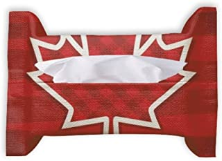 Canada Day 4th of July Square Maple Leaf Paper Towel Facial Tissue Bag Napkin Bumf