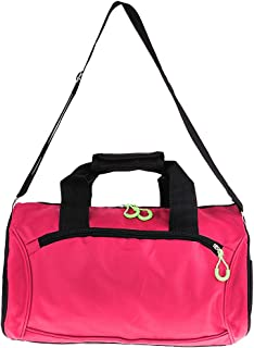 Baoblaze Waterproof Gym Yoga Duffel Bag with Adjustable Shoulder Strap Hidden Pockets Weekender Lightweight Luggage