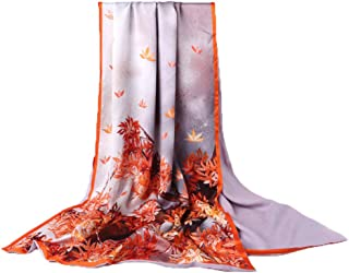 HangErFeng Double Scarf Front Silk Back Wool Chinese Traditional Shawls Christmas New Year Valentine gift packaging