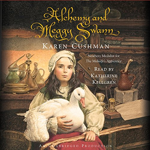 Alchemy and Meggy Swann audiobook cover art