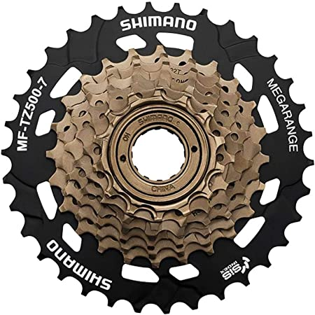For SHIMANO TOURNEY CS-HG200-7 Cassette 7//21 Speed 12-28T Flywheel MTB Bicycle