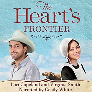 The Heart's Frontier audiobook cover art