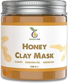 Honing Gezichtsmasker 250g - Natuurlijke Cosmetica Anti Puistjes, Mee-eters Masker en Tegen Acne - Anti-aging verzorging v...