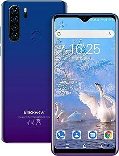 Blackview A80 Pro SIMフリー スマホ本体 4GBのRAM + 64GBのROM スマホ 4680mAh大容量バッテリー 6.49インチ 水滴型スクリーン 1300万画素+800万画素 4Gスマートフォン 格安スマホ デュアル...