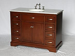 Amazon Com 46 Inch Bathroom Vanity