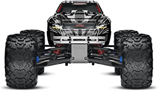 Traxxas T-Maxx 3.3: 1/10 Scale Nitro-Powered 4WD Monster Truck with TQi 2.4GHz Radio and TSM, Black