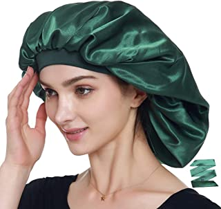 Extra Large Silky Satin Bonnet – Double Layer, Double Care