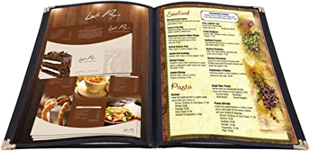 legal size menu covers