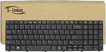 Generic New Black Notebook US Keyboard for Acer Aspire E1-521 E1-531 E1-531G E1-571 E1-571G & for Gateway NE56 NE56R NE51B NE56R10u NE56R11u NE56R12u NE56R13u NE56R34u NE56R27U NE56R35U NE56R31U NE56R15 NE56R37u NE56R41u NE56R42u NE56R43u NE56R45u NE71B NE71B06u NE71B07u NE71B10u NE71B11u & for Packard Bell Q5WV1 Q5WS1 Q5WTC Series Replacement Part Number AER15U00310 V121046AS1 PK130C92A00 9Z.N3M82.11D