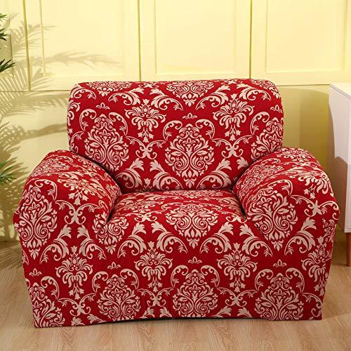 WXQY Fundas elásticas Funda de sofá elástica con protección para Mascotas Funda de sofá con Esquina en Forma de L Funda de sofá con Todo Incluido A9 3 plazas
