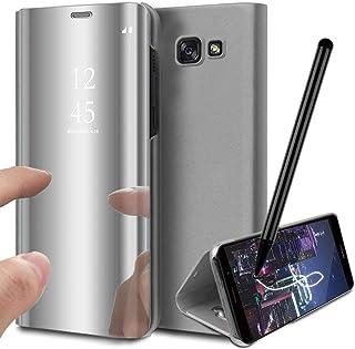e1de5cf6ece Funda para Samsung Galaxy A5 2017 A520, Carcasa Espejo PC Mirror Flip 360°  Window