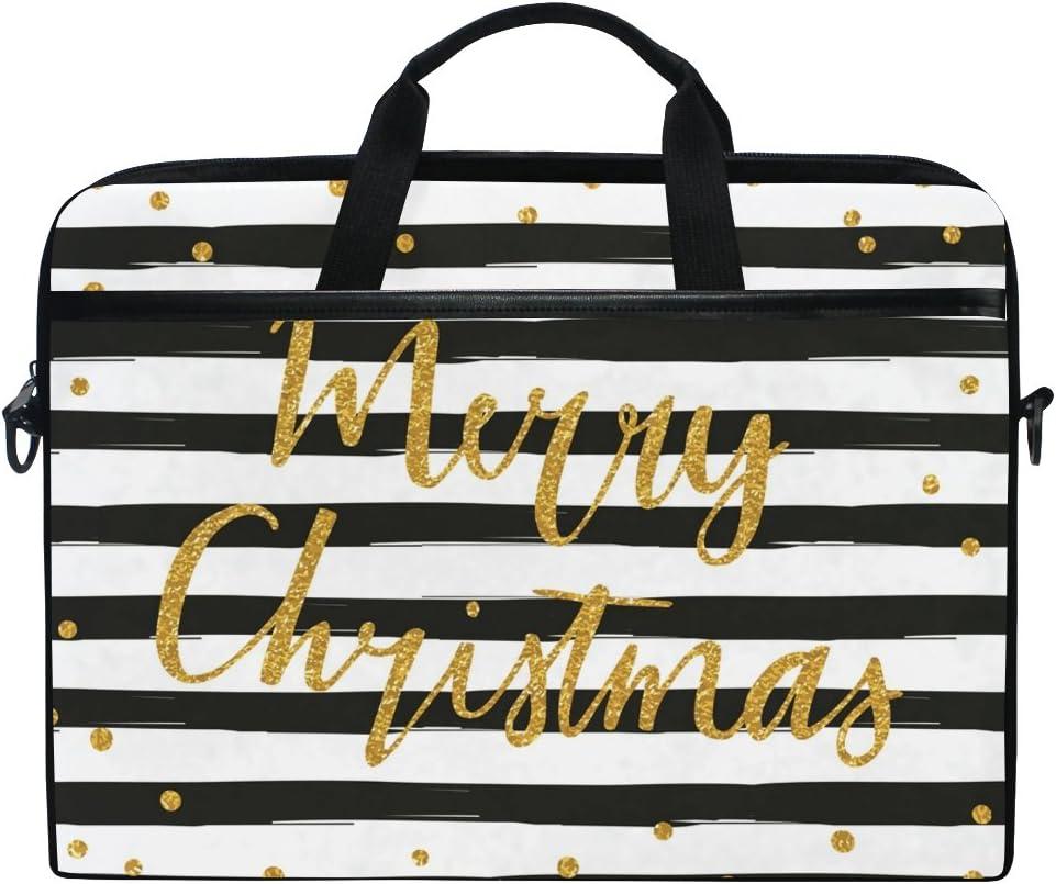 JSTEL Merry Fashionable Christmas Laptop Shoulder Case Bag Sleeve Direct stock discount Messenger