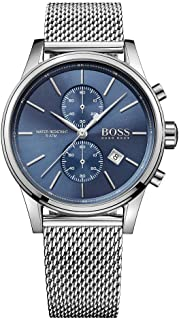 Hugo Boss Mens Quartz Watch, Analog Display and Stainless Steel Strap 1513441
