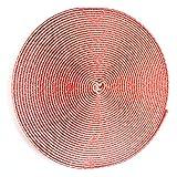 TESO – 8 metros cinta de velcro autoadhesiva (cinta de gancho) para mosquitera tejido de protección contra insectos, gasa/mosquitera