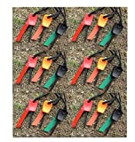 5X Feuerstein Feuerstahl Mini Feuerstarter 1000 Zündungen Magnesium Feuerstarter Feuerzeug