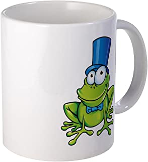 Mug (Coffee Drink Cup) Frog with Top Hat