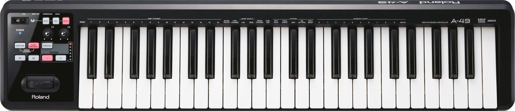 Roland Lightweight 49 Key Keyboard Controller