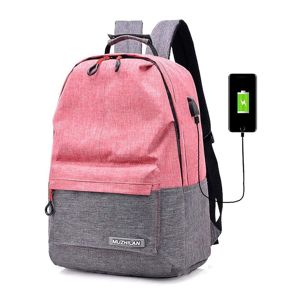 オーディションアライメント現象ユニセックスクール男の子女の子男性女性屋外バックパック旅行バックパックデイパックショルダースクールバッグラップトップバッグ付きusb充電ポート
