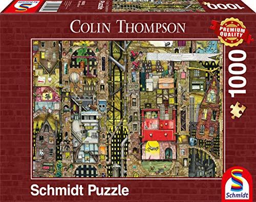 Schmidt 59355 Puzzle Paesaggio Urbano Fantastico Colin Thompson 1000 Pezzi