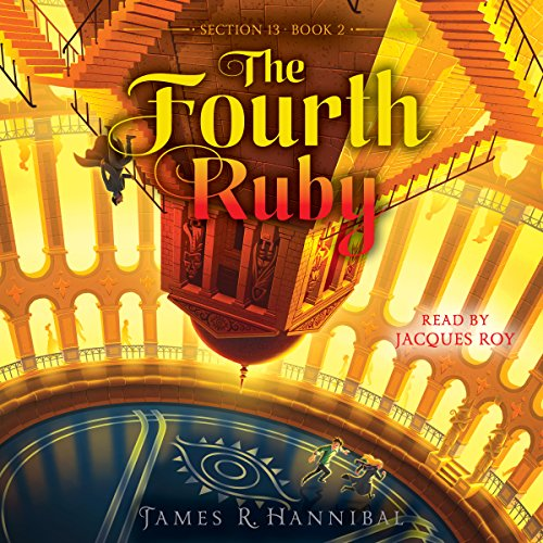 The Fourth Ruby audiobook cover art