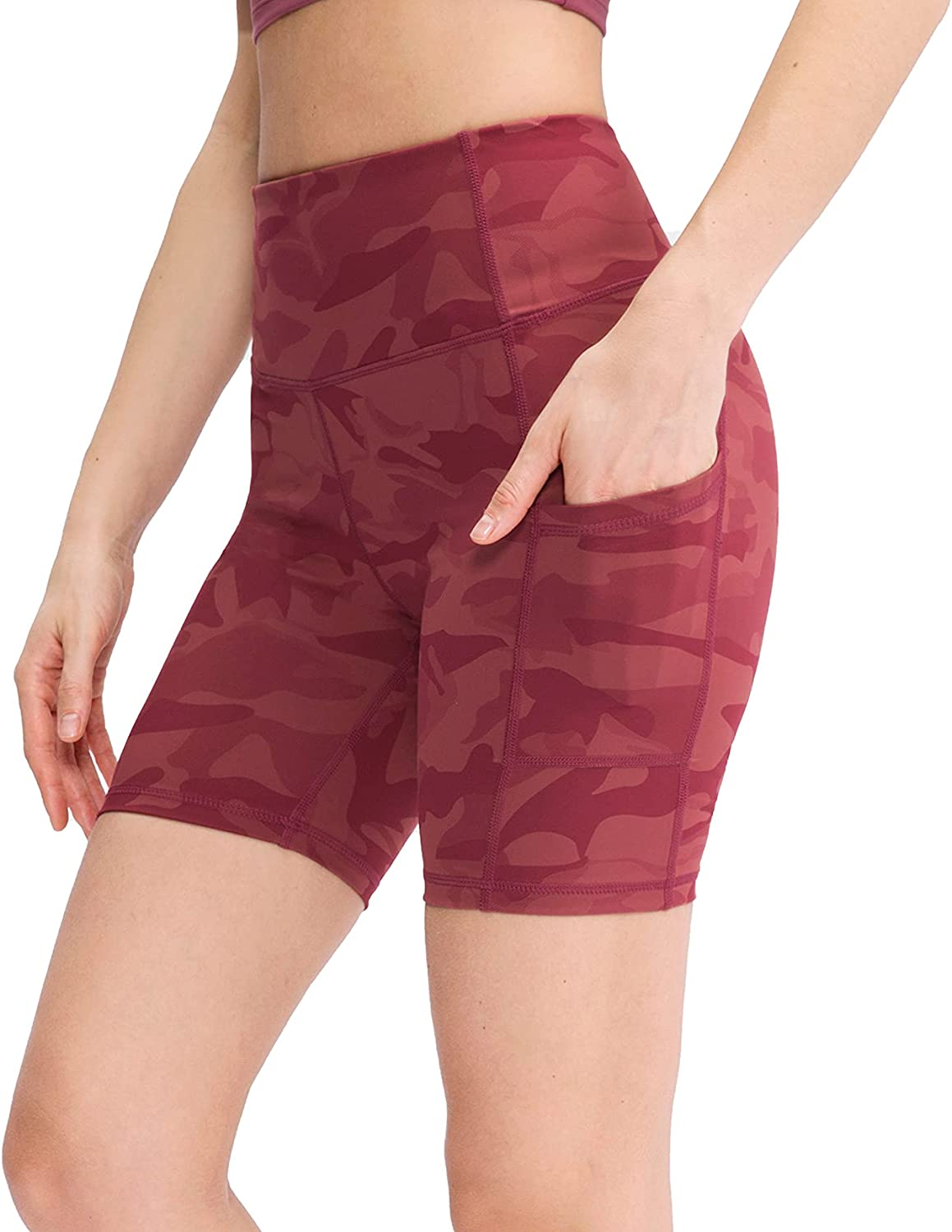 NUOVA Tampa Mall ACTIVE Women's High Waist Print Athletic Regular dealer with Shorts