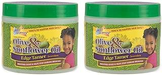 Sofn'Free n'Pretty Olive & Sunflower Oil Edge Tamer 4 oz Pack of 2