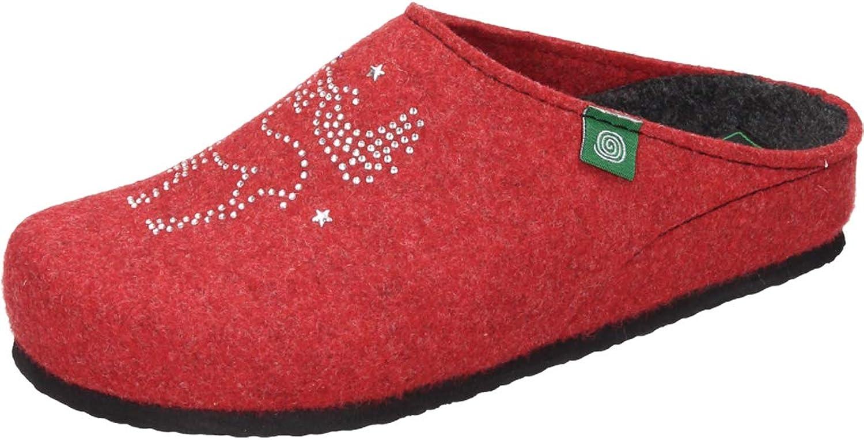 Dr. Brinkmann Damen-Pantolette red (4)