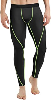 zhxinashu Men Quick-Dry Sport Compression Pants - Running Base Layer Leggings Gym Tights Stretch Sportswear