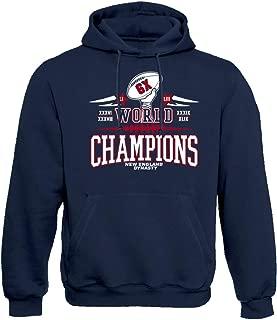 New England Six Times Champions Hoodie Sweatshirt