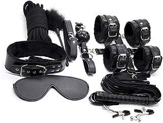 Nolverty Exercise Sports Kit Strength Training Set for Men and Women, 10 pcs BLACK