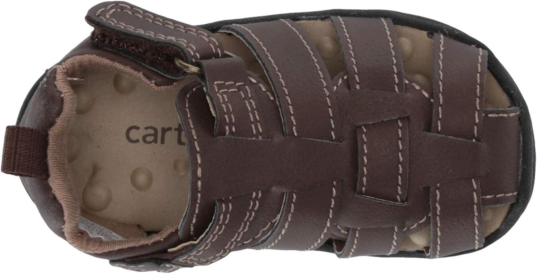 Carters Every Step boys infant 1st walker Miller fisherman sandal