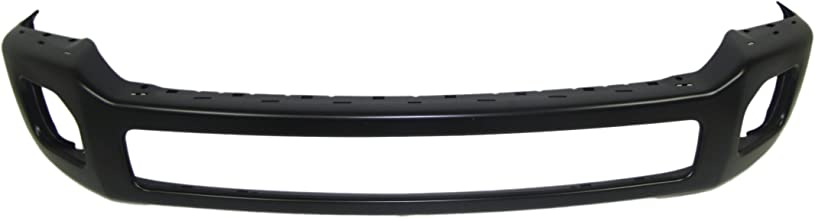 FOR 2011-2016 FORD SUPER DUTY F250 F350 FRONT BUMPER FACE BAR BLACK PAINTED (WITHOUT BUMPER END HOLE) FO1002417