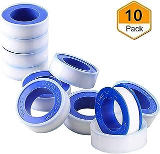 Beymill Duct Tape Teflon Tape,10 Pack Plumbers Tape Thread Seal Tape,Flex Seal Tape Waterproof for Plumbing,White 1/2