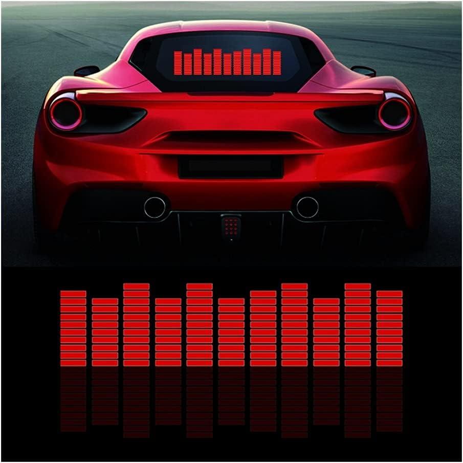 Red Music Genuine Rhythm Flash Light Car Sound Fire LED Max 59% OFF Activated Sensor
