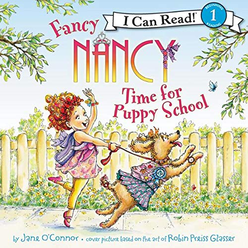 Fancy Nancy: Time for Puppy School audiobook cover art