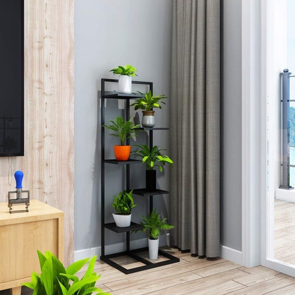 Super sale Price reduction LSNLNN Plant Stands Flower Rack P Multilayer Metal Indoor Balcon