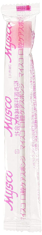 効果重要なビデオマイスコ口腔ケアスポンジ(少数包装) MY-7671(10ポンイリ) 口腔ケア用スポンジ
