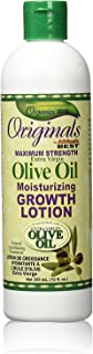 Africas Best Orig Olive Oil Max Strength Grow Lotion 12 Ounce (355ml)
