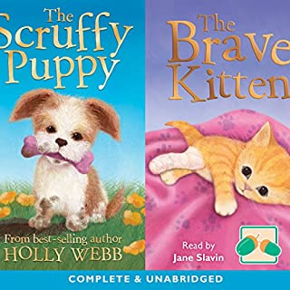 The Scruffy and the Brave Kitten cover art