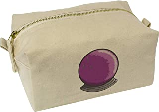 'Crystal Ball' Canvas Wash Bag / Makeup Case (CS00019661)