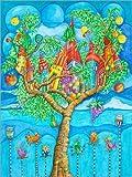 Poster 30 x 40 cm: das Märchen vom Baumhaus und Seine