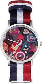 Avengers - Reloj de ocio para adultos, moderno, hermoso y personalizado de aleación, reloj deportivo casual para hombres y...
