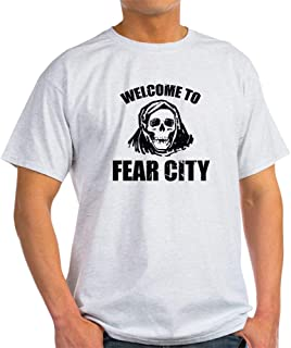 Welcome to Fear City 100% Cotton T-Shirt, White