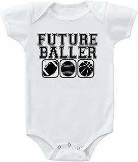 Unisex Future Baller Funny Baby Onesie Bodysuit