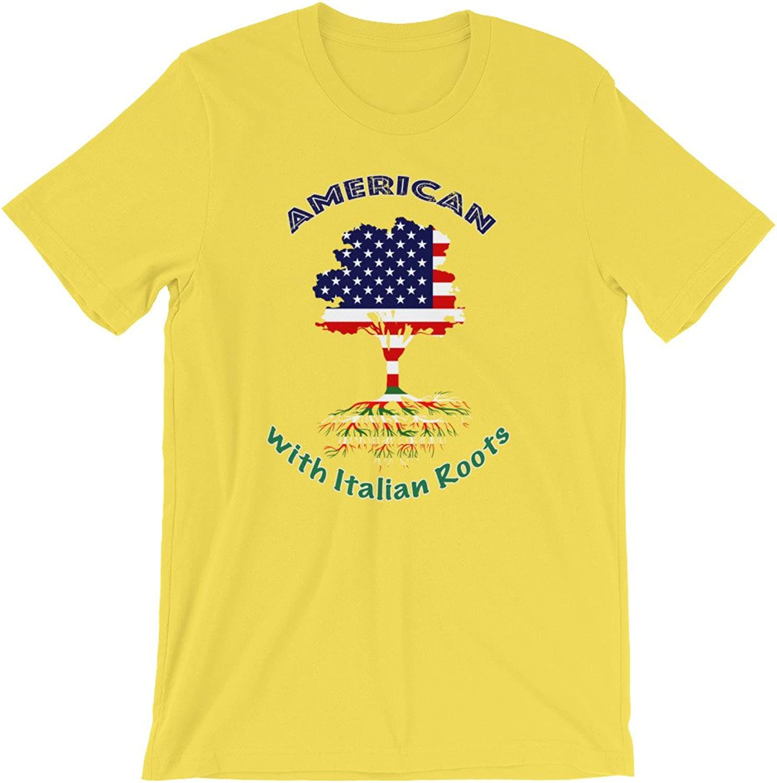 Caledonia American with Italian Roots ShortSleeve Unisex TShirt