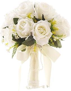 Amazon Fr Bouquet Fleurs Mariage