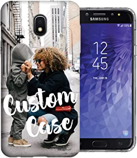 MUNDAZE Design Your Own J7 Case, Personalized Photo Phone case for Samsung Galaxy J7 J737 Crown (2018) / Refine/Aura Perfect Custom Case