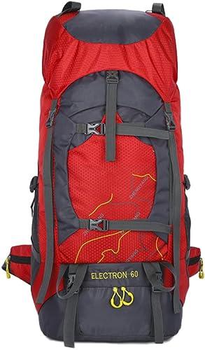 60L Sac à Dos Pour Camping Randonnée Voyager En Plein Air Voyage Alpinisme Léger Indépendentif Magasin De Chaussures