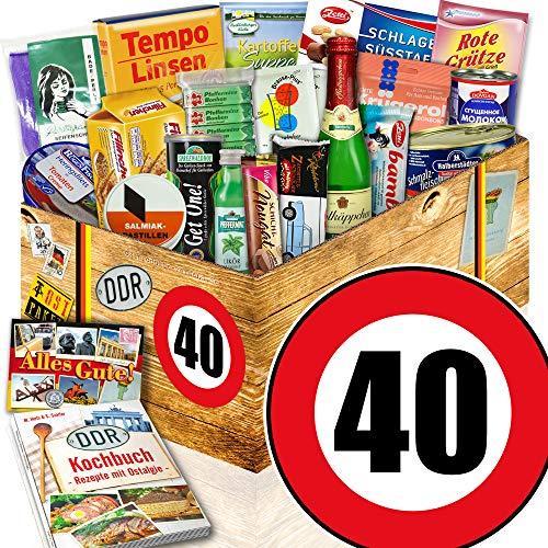 Spezialitätenset / Ostalgie Set / 40 Geburtstag / Geschenkbox für Sie