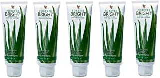 Forever Living Bright Toothgel, 4.6 oz, Natural Mint Flavor, Pack of 5